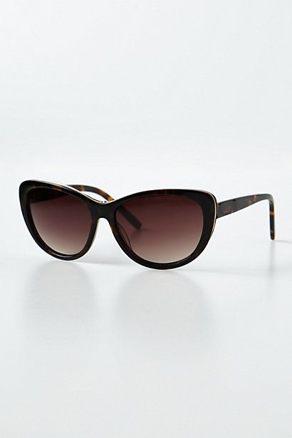 Chatoyant Sunglasses #anthropologie