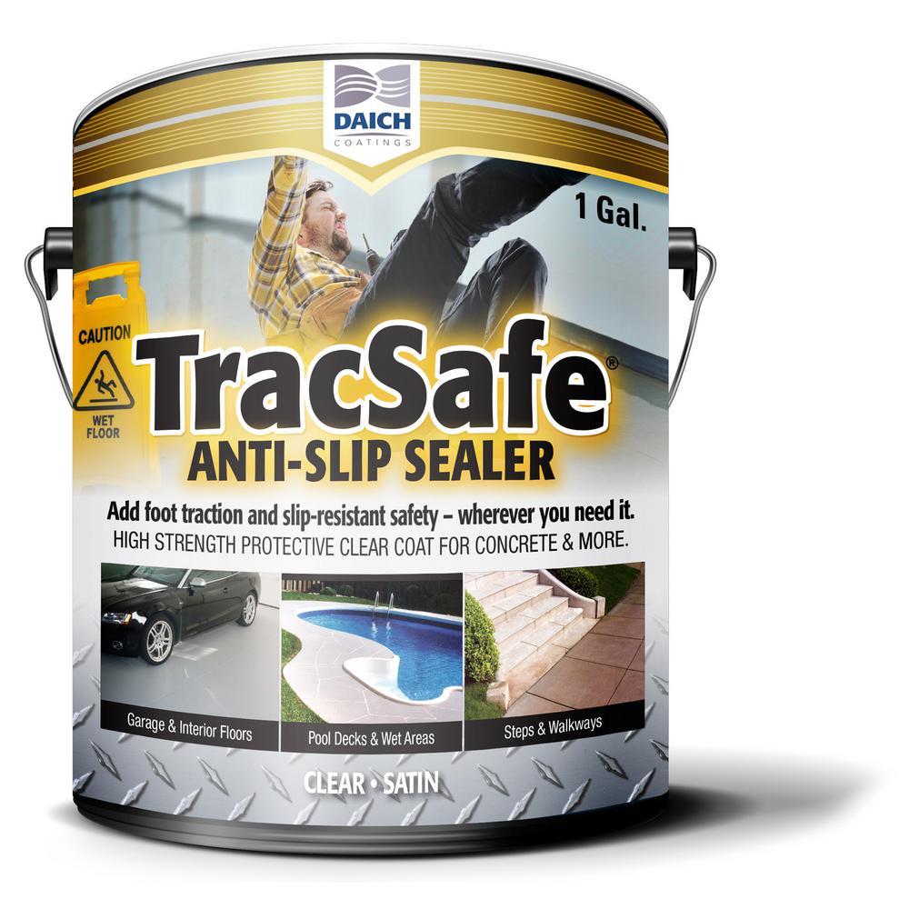 Tracsafe AntiSlip 1 gal. Clear MultiSurface Sealer Water