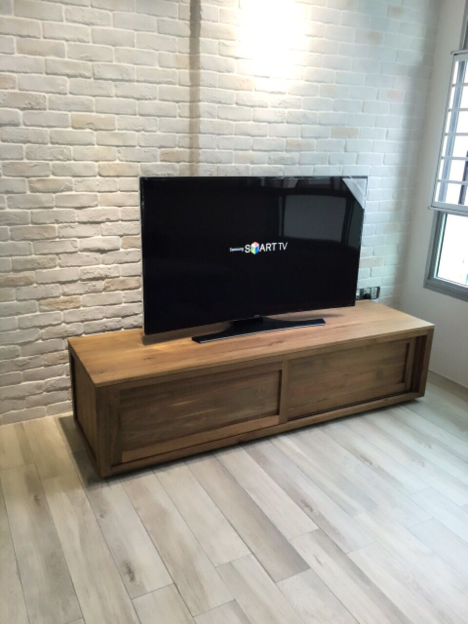 Teak Tv Console Ethnicraft Hdb Our Minimalist Scandinavian  # Ethnicraft Meuble Tv