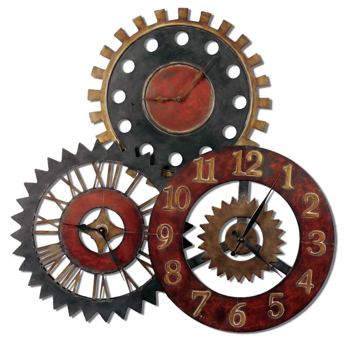 Rusty movements clock future house ideas pinterest clocks