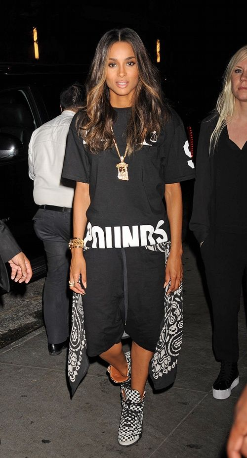 No One Does Tomboi Better Than Ciara My Style Pinterest