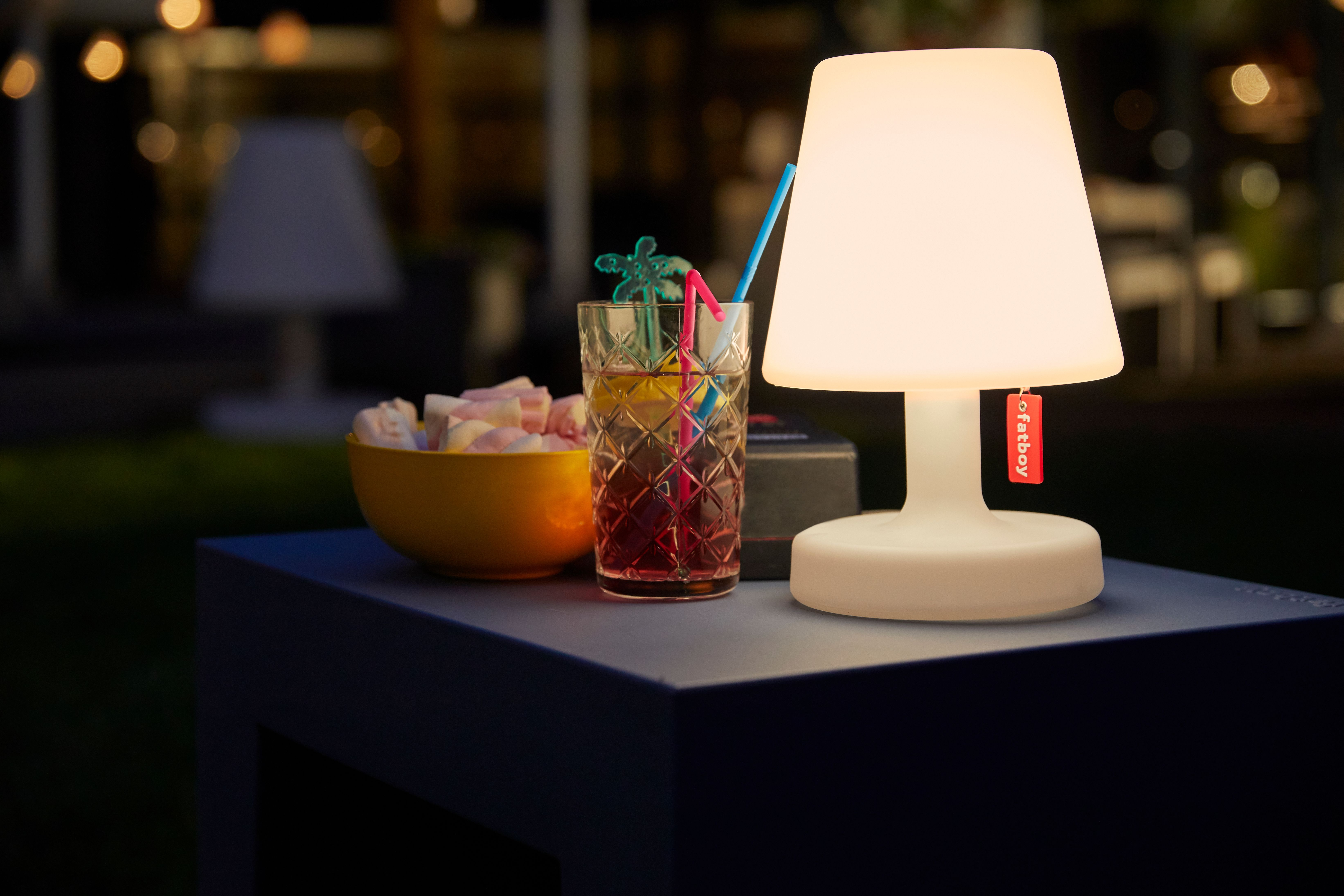 To Dark To See Your Mojito Just Take Your Edison The Petit Fatboyoriginal Led Table Lamp