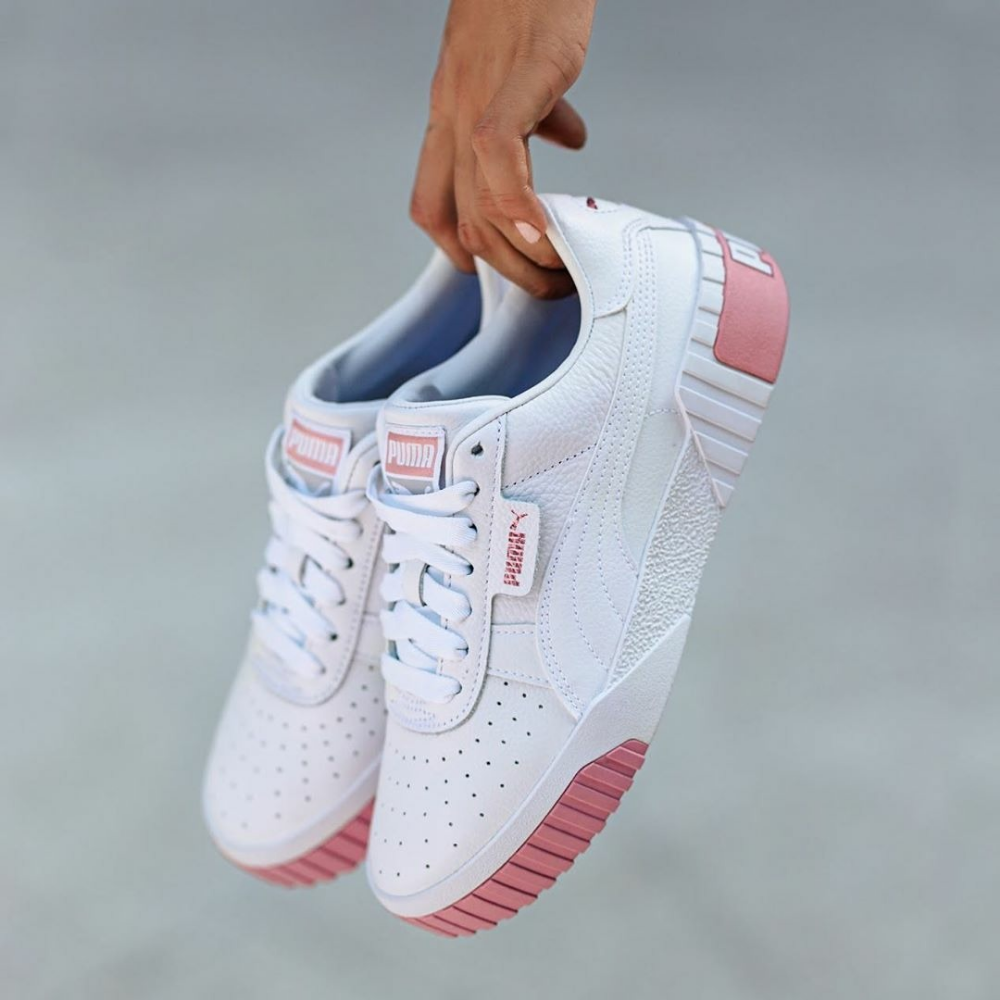 Puma Cali WN's Puma White Rose Gold en 2020 | Zapatos