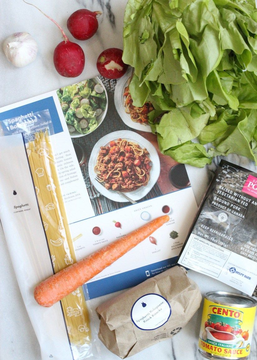 Blue apron bolognese - Blue Apron Spaghetti Bolognese