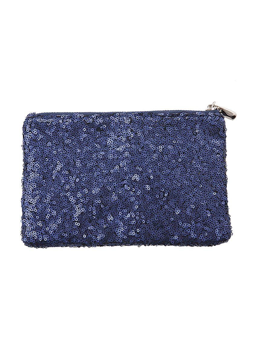 glitzer handtasche blau