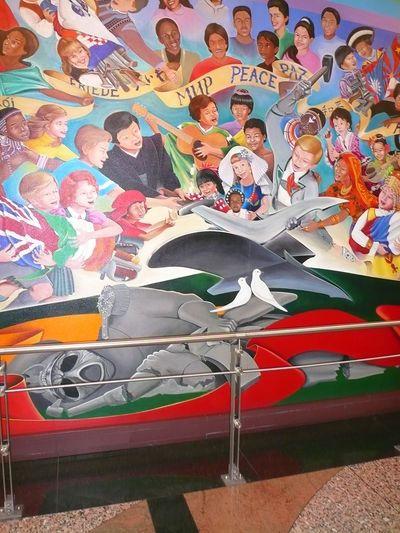 911 denver international airport murals wiki for Denver airport mural conspiracy