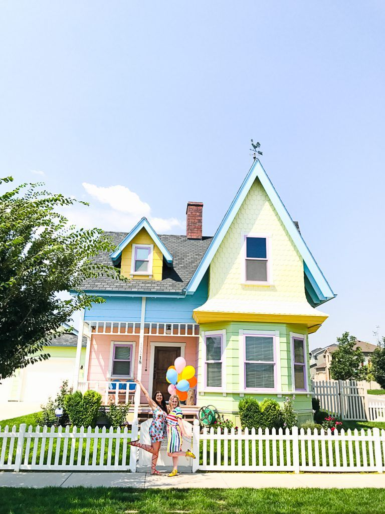 VISITING THE REAL LIFE DISNEY UP HOUSE IN SALT LAKE CITY