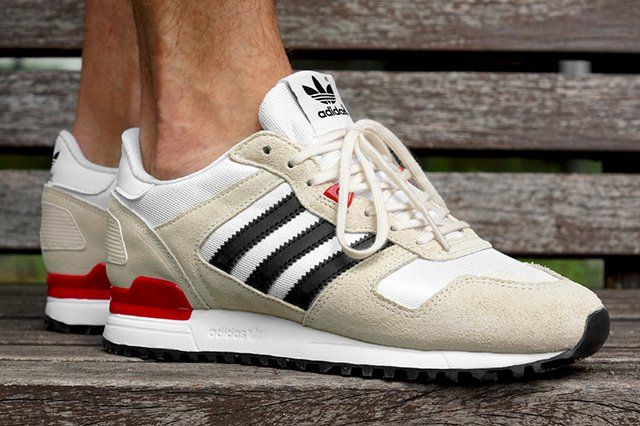 The adidas Originals ZX700 comes up looking super crispy