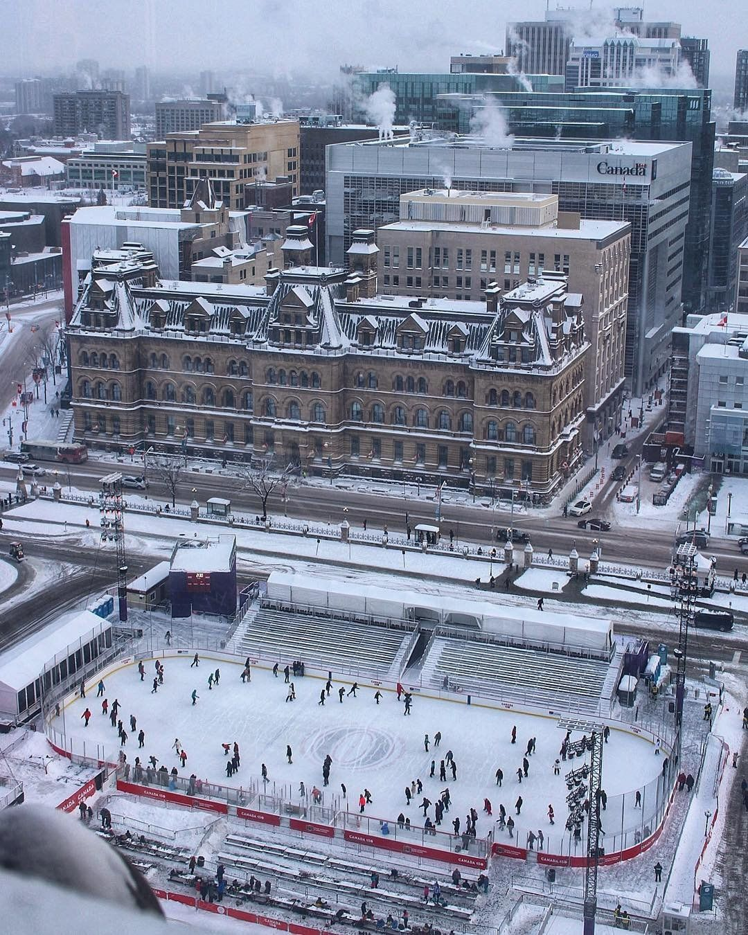 2018 canada 150 rink canada 150 photo the valley