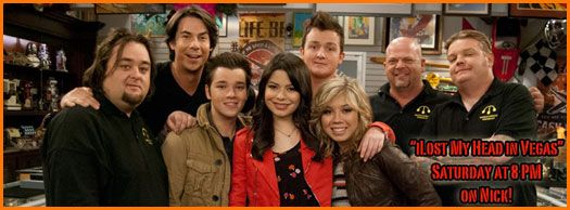 """Pawn Stars"""" In Nickelodeon's """"iCarly"""" Episode """"iLost My Head"""