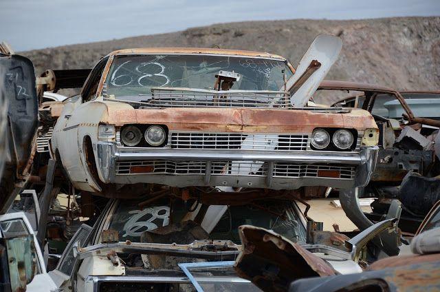 68 Impala Classic Cars Chevy Classic Cars Junkyard