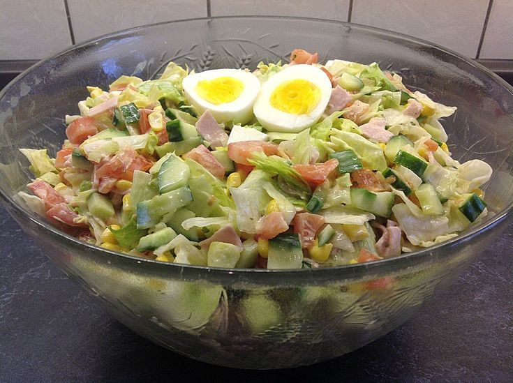 Eisbergsalat   - Mary Gries-#chickensalad