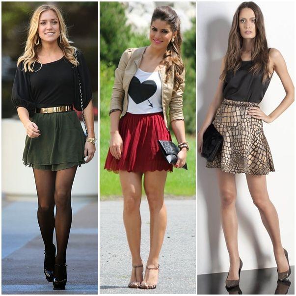 Muito look-traje-esporte-fino-feminino-saiacurta | Minhas coisas | Pinterest KD82