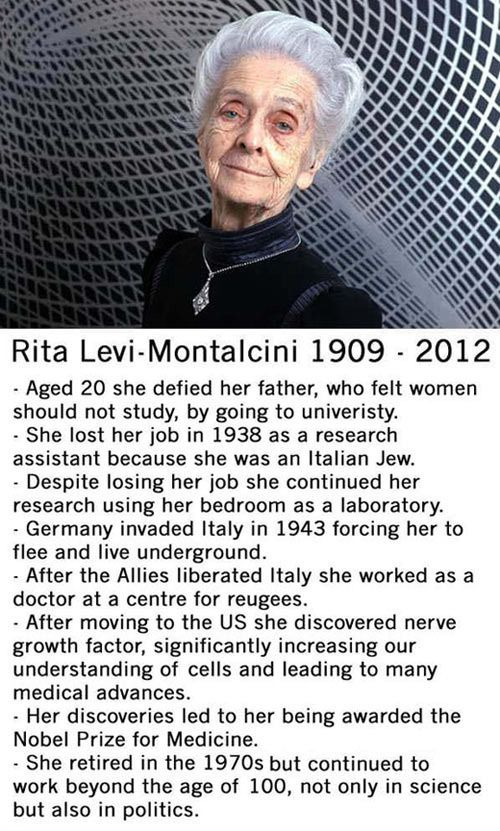 A great woman.