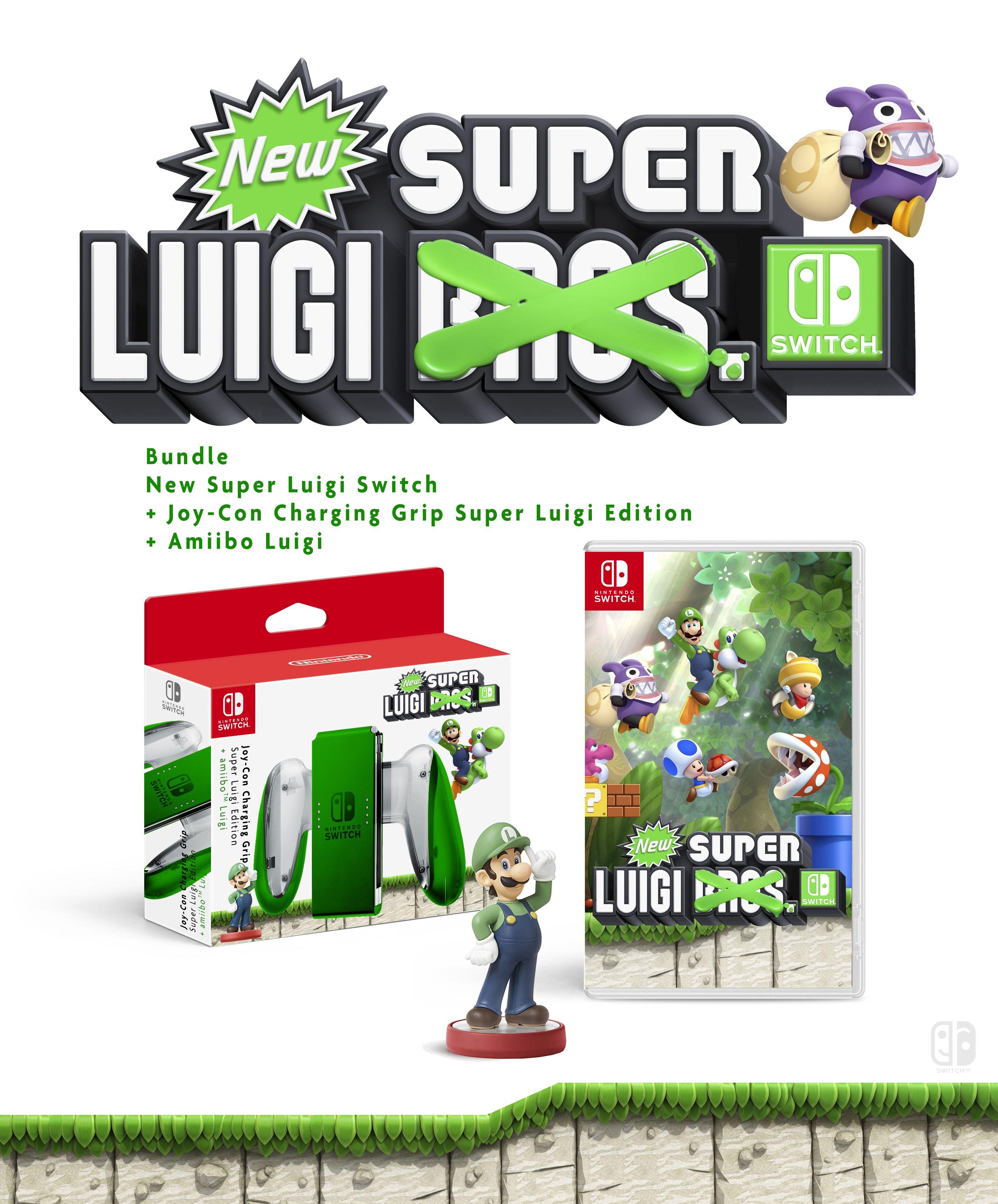 Joy Con Charging Grip Super Luigi Edition New Super Luigi Switch Nintendo Joy Con Collector Nint Nintendo Switch Games Nintendo Switch Accessories Nintendo