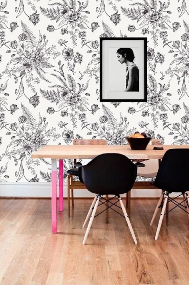 Fototapete #fototapete ©Tapet-Show | Wandgestaltung, Tapeten und Blüten