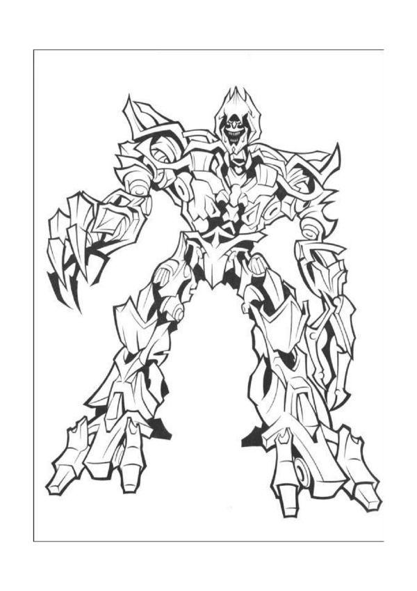Dibujos para Colorear Transformers 21 | Dibujos para colorear para ...