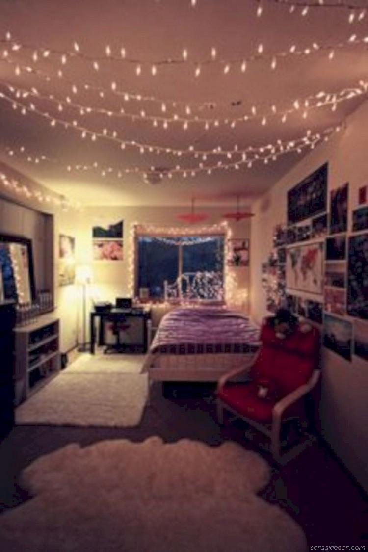 COZY TEENAGE GIRLS BEDROOM IDEAS LIGHTS | BEDROOMS I LOVE | Pinterest |  Quartos E Decoração