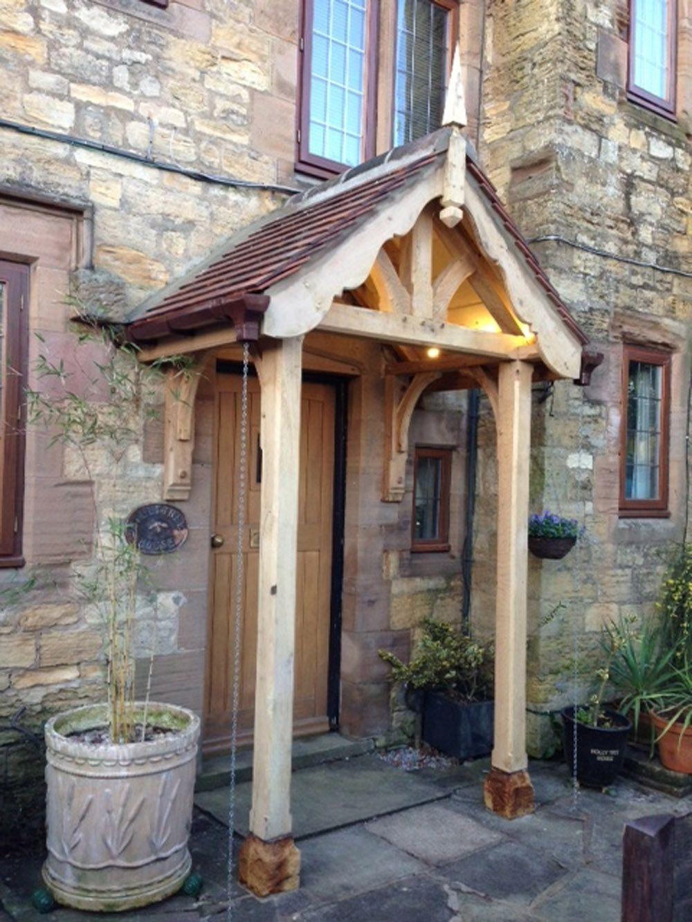 Cottage porch & oak porches - Google Search | Staddle stones | Pinterest | Porch ...