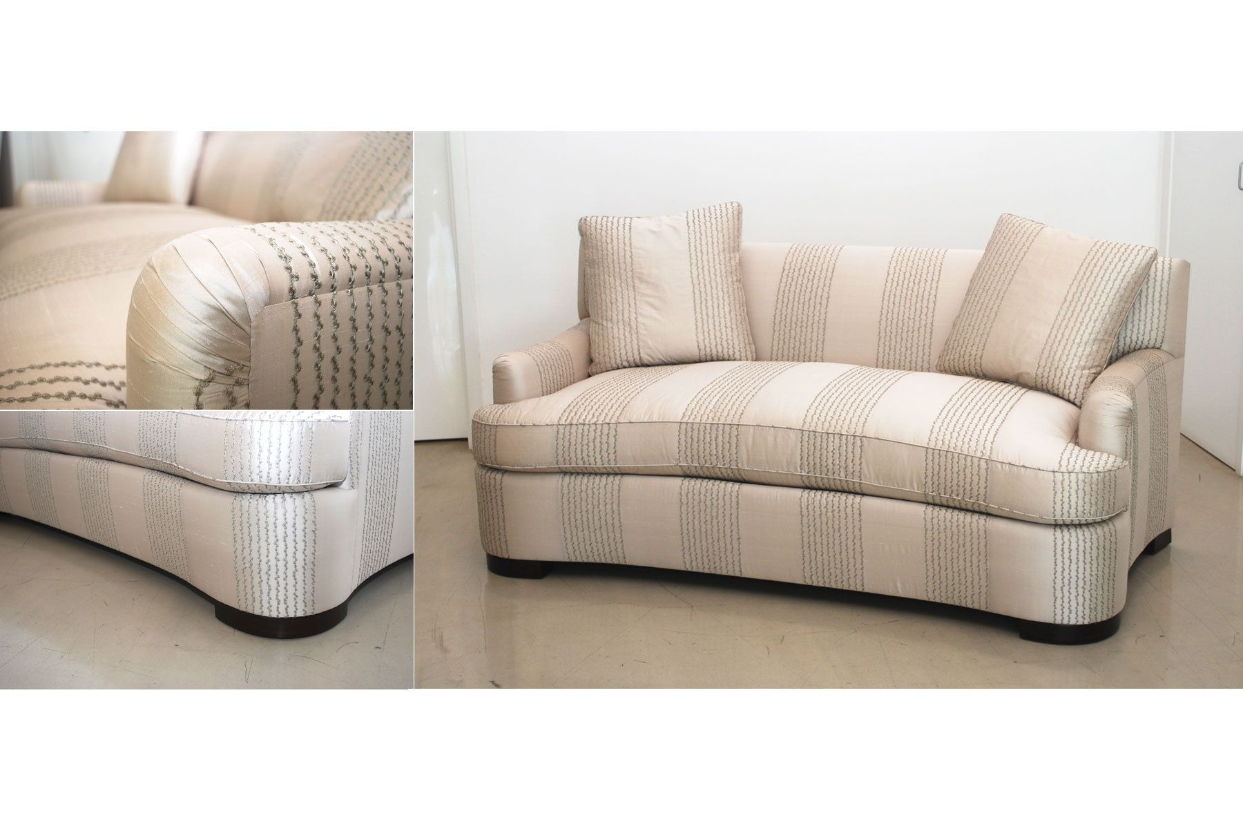 custom sectional sofa cama precio panama curved loveseat sofas