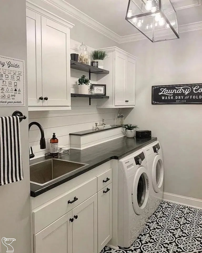 54 Amazing DIY Laundry Room Storage Shelves Ideas #laundryroomideas