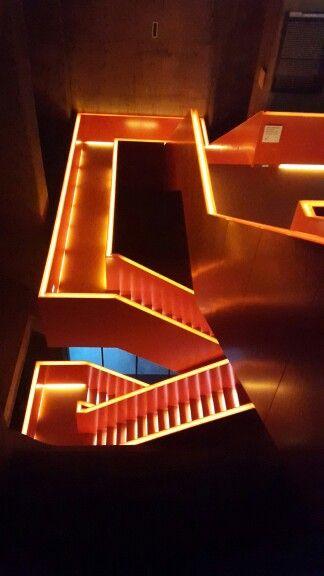3ec668f14bcd Stairs designd by Rem Koolhaas Ruhr Museum Essen