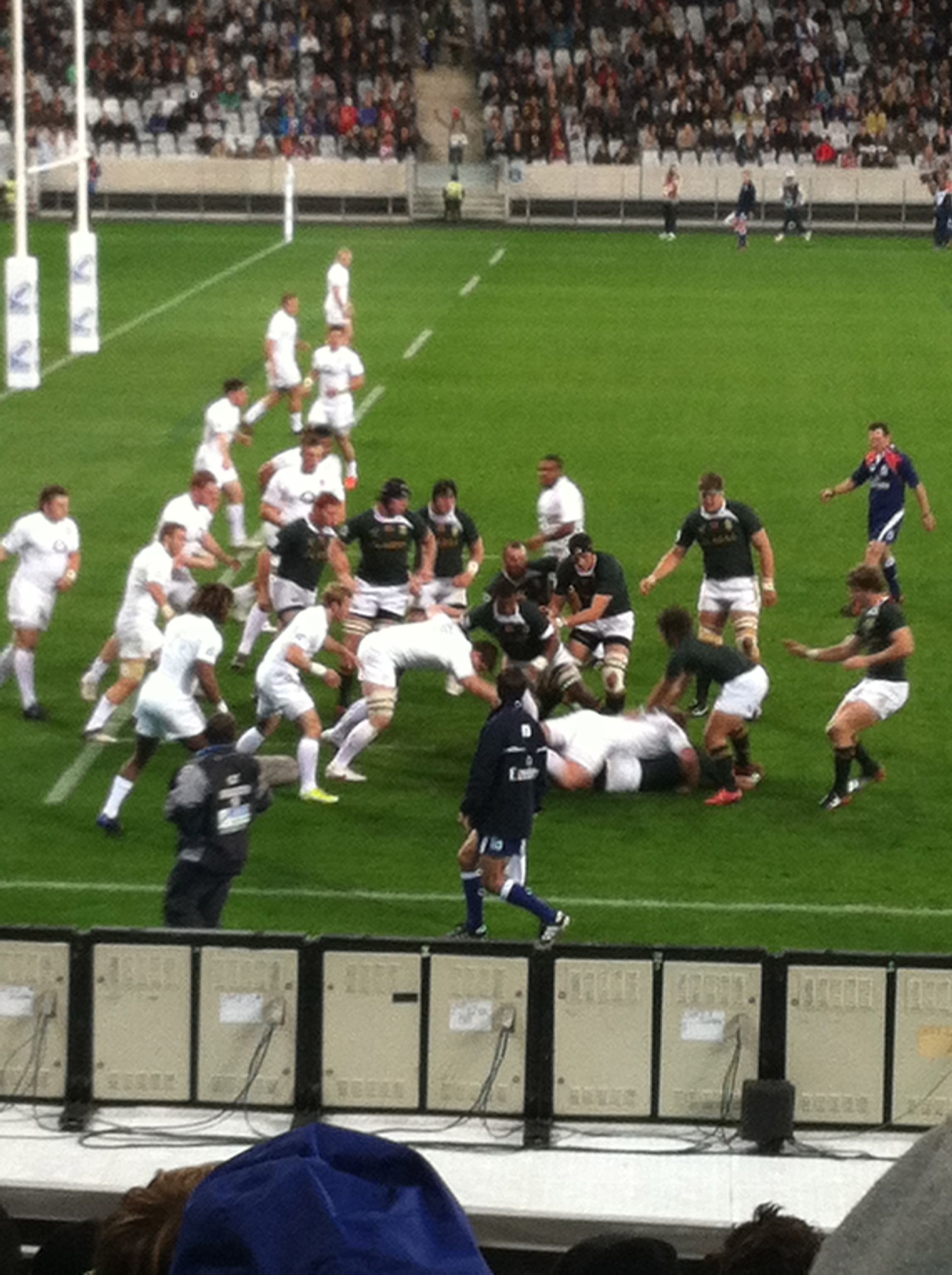 IRB Junior World Cup Rugby Game, England vs. South Africa