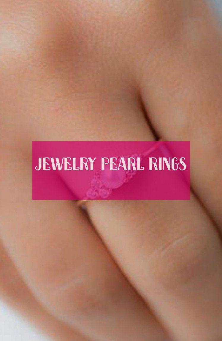 jewelry pearl rings