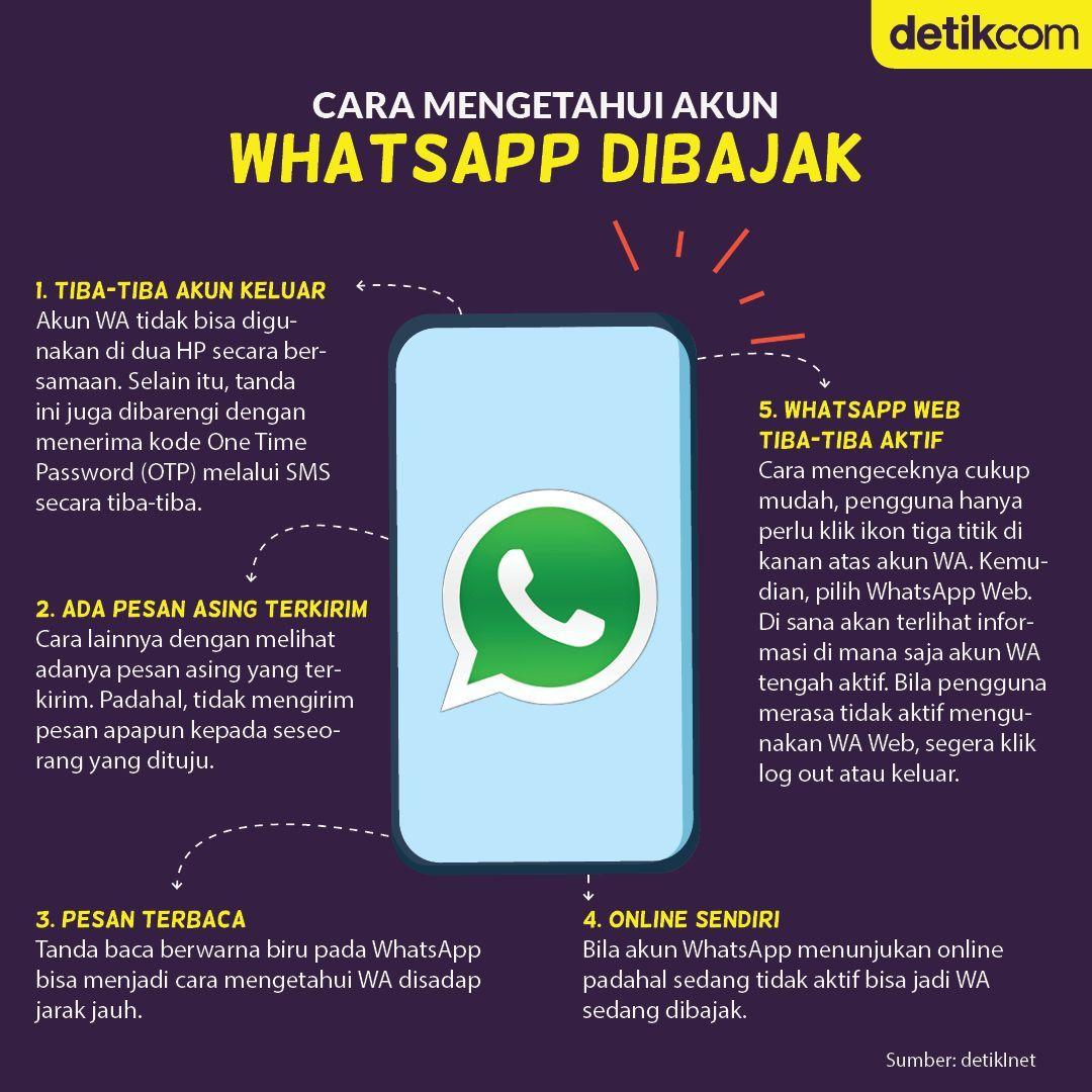 Cara Mengetahui Akun Whatsapp Dibajak Teknologi Pendidikan Pendidikan Kesehatan Pendidikan