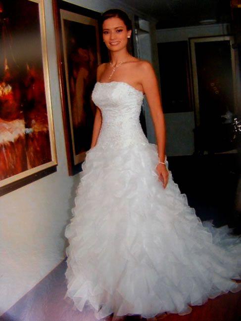 Resultado de imagen para vestido de novia: con ondas   Novias ...