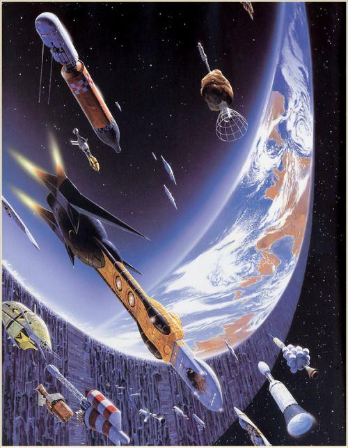 Une Forme de Guerre (Iain M. Banks, Consider Phlebas) Artist: Manchu (Philippe Bouchet)