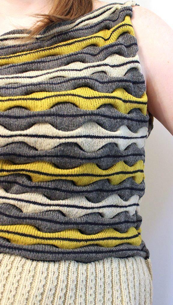ИДЕИ ДЛЯ ВЯЗАНИЯ | Tejido, Textura y Patrones de tejido