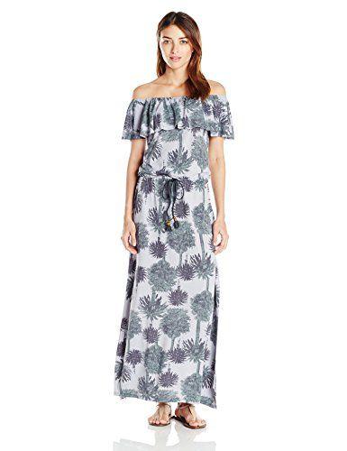 a8a8811137701 Maaji Womens Half Moon Dress Cover up Medium Grey M ** ** AMAZON BEST BUY **
