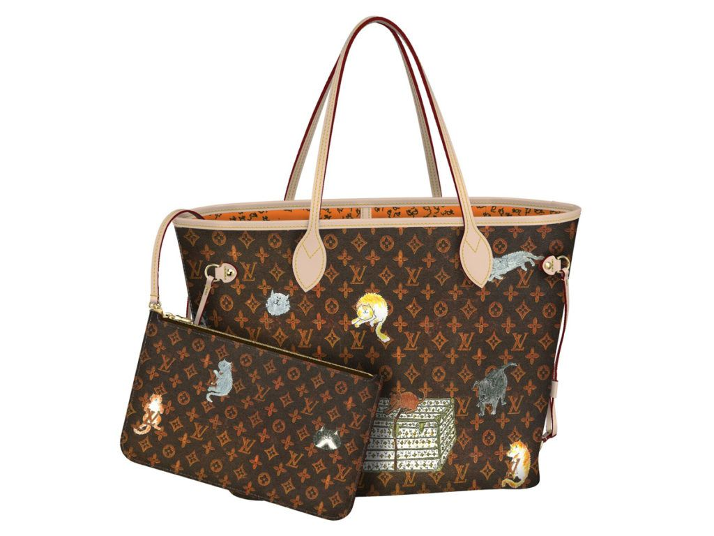 85eafb8a8f0d82 Louis Vuitton Cruise 2019 Catogram Neverfull & Speedy30 | Louis ...