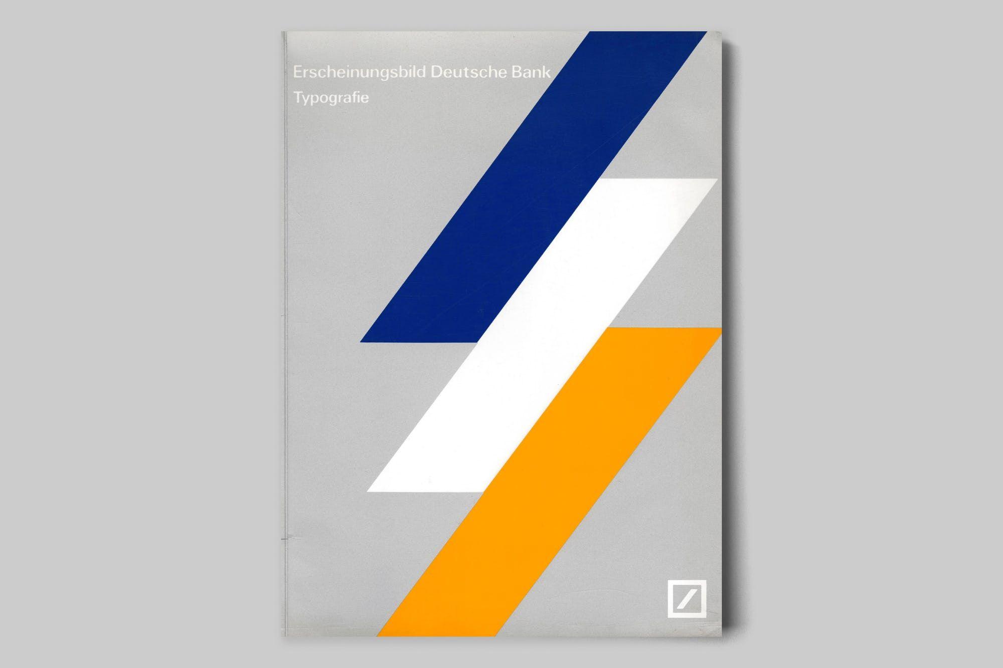 """Presented here is the """"Erscheinungsbild Deutsche Bank"""