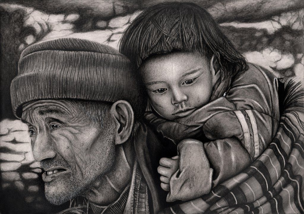 the journey by pen tacular artist this drawing is also more charcoal than graphite it s great to find artists whose work evokes deep feelings in