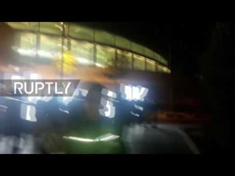 Turkey: At least 20 injured as blast rocks central Istanbul - YouTube