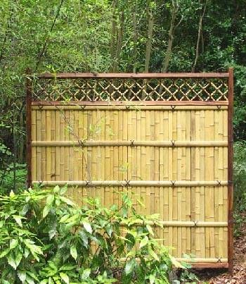Prebuilt bamboo fence panels for Outdoor bamboo screen panels