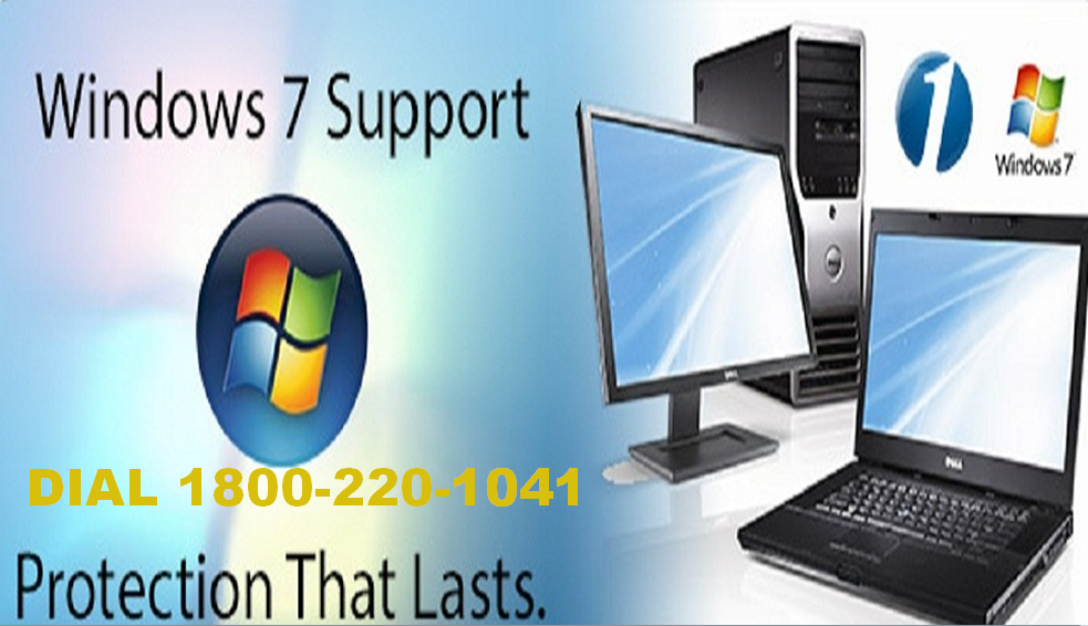 Windows 7 Tech Support Phone Number TOLL FREE 1800220