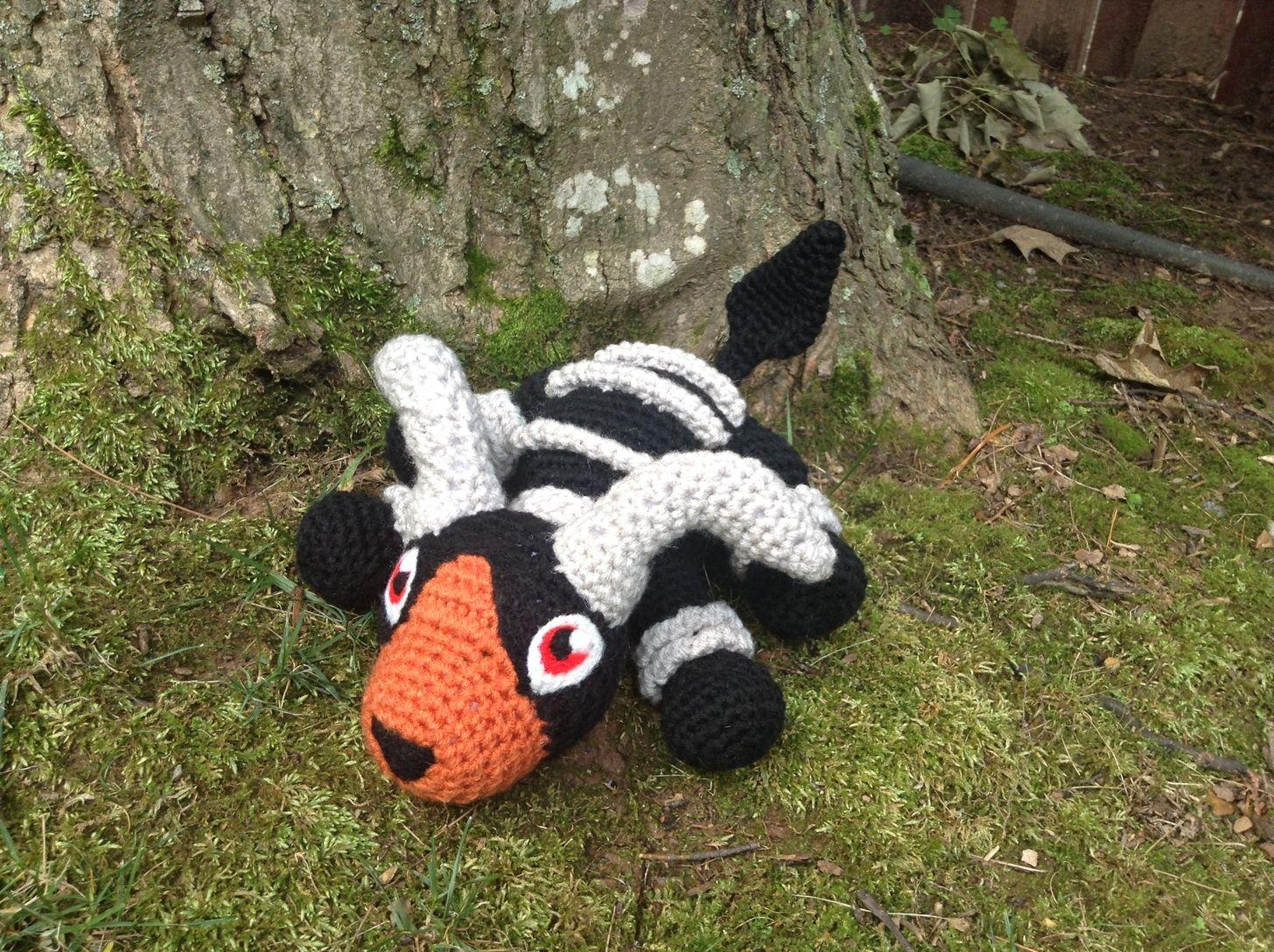 I am a disabled artist who makes Pokemon Amigurumi (crochet)! Please ...
