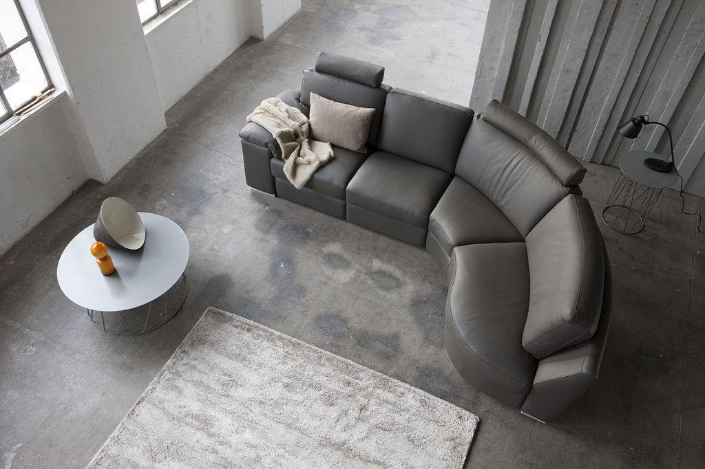 divani angolari per piccoli spazi  Space di Doimo Salotti