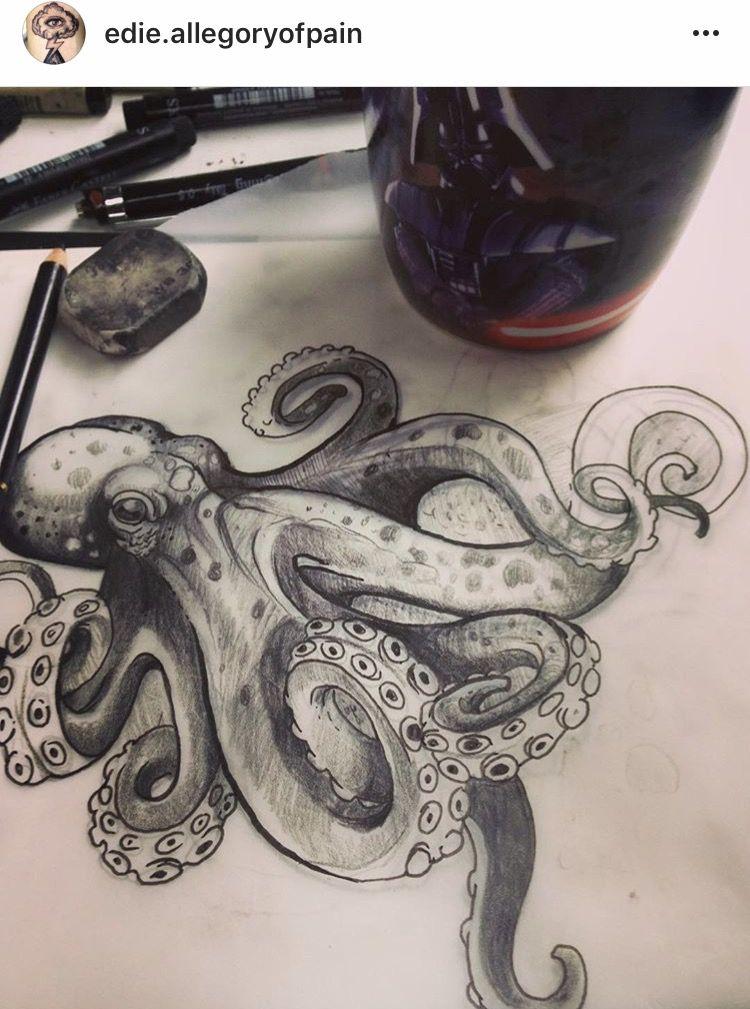 Photo of Octopus Style mag ich. Riesentattoo für meine Hüfte?