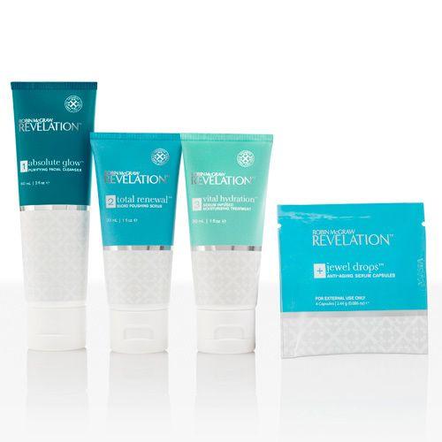 Robin Mcgraw Revelation 30 Day Kit Anti Aging Skin Care Kits Skin Care Kit Daily Skin Care Routine