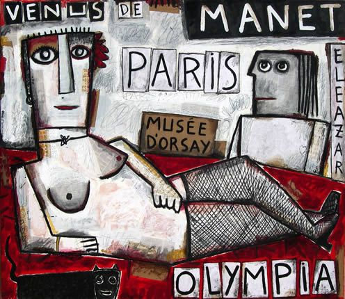 Eleazar. Olympia: Venus de Manet