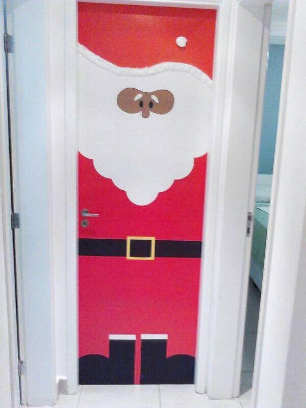 DIY: porta de natal para as crianças. Foto: Sarah Baldissera