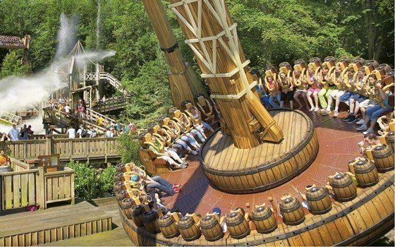 Amusement park duinrell attractions in the hague for Amusement park netherlands
