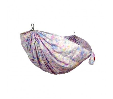 Grand Trunk Double Parachute Nylon Hammock Tie-Die #grandtrunk