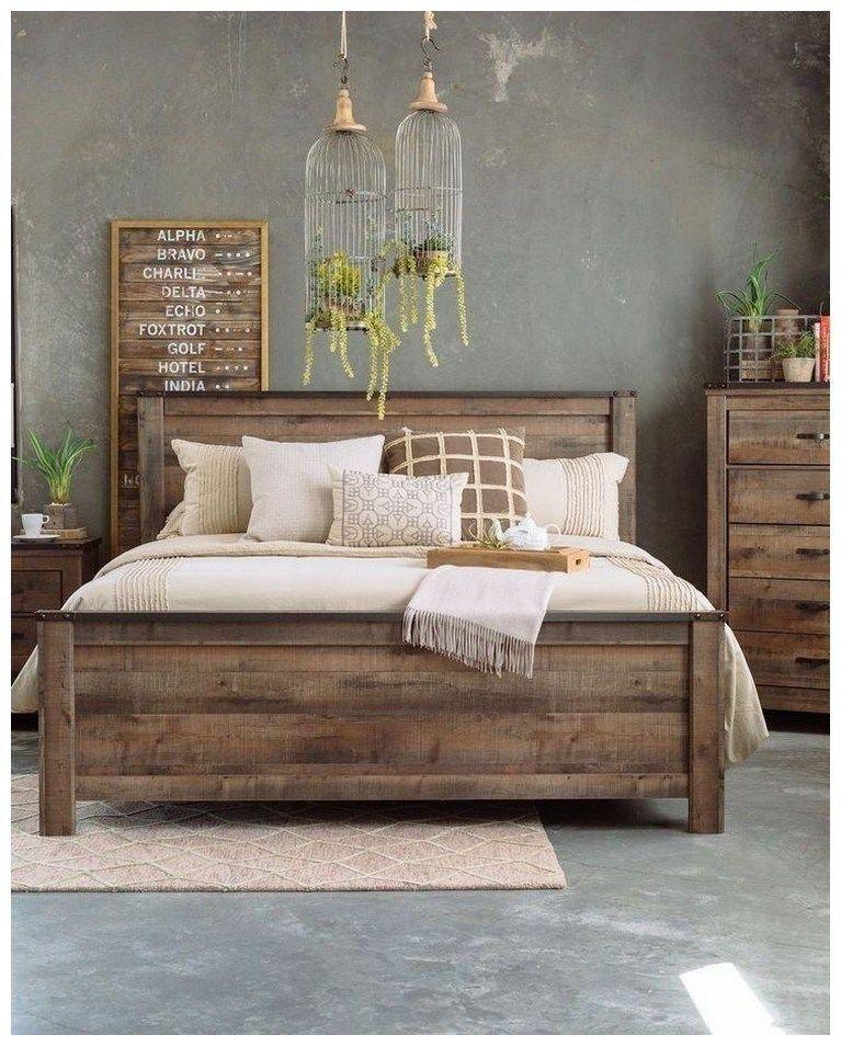 44 Diy Rustic Modern King Bed Ideas Rusticbedroomideas