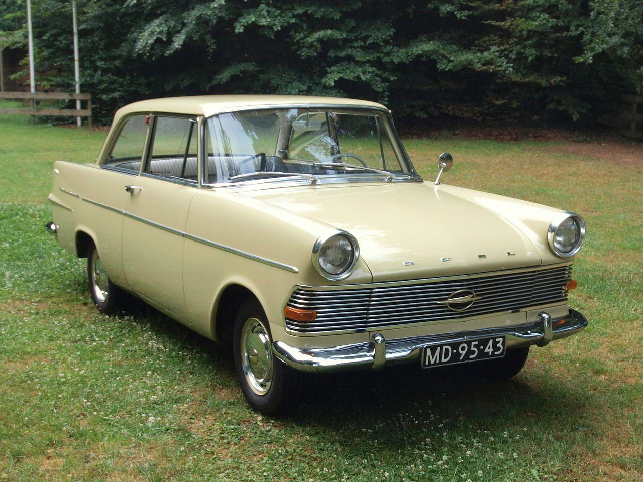 1962 opel rekord p2 front side cars bilar. Black Bedroom Furniture Sets. Home Design Ideas