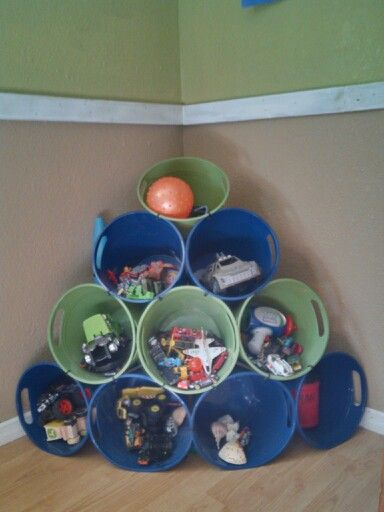 Plastic Buckets From Dollar Tree Zip Tied Together